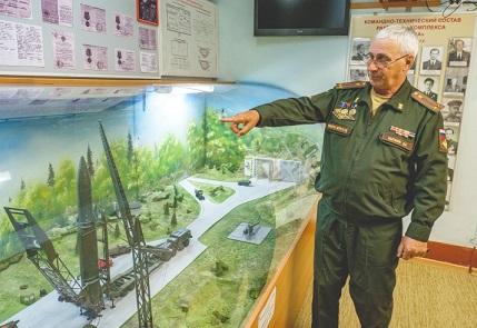 Посещение музея 52 ракетной дивизии в подземном бункере