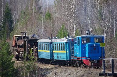 Проезд в вагончике по самой протяжённой в России узкоколейной железной дороге от г. Алапаевска до Верхней Синячихи: